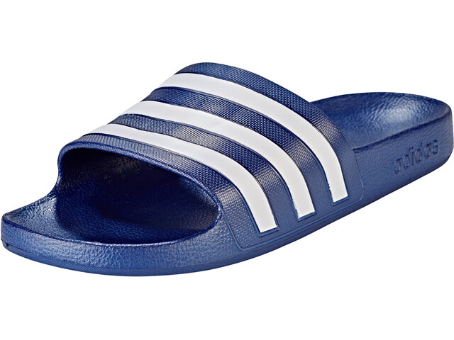 adidas Adilette Aqua Sandals Herrer, dark blue/ftwr white/dark blue